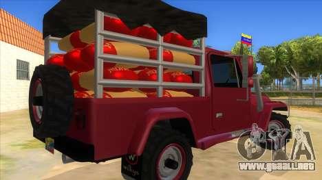 Jeep Pick Up Stylo Colombia para la visión correcta GTA San Andreas
