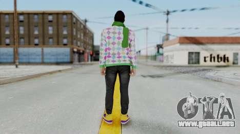 GTA Online Skin (DaniRep) para GTA San Andreas tercera pantalla