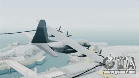 KC-130 Air Tanker para GTA San Andreas left