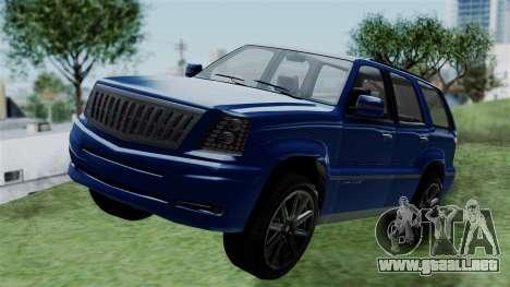 GTA 5 Albany Cavalcade v2 IVF para GTA San Andreas