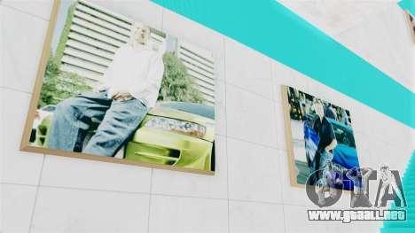 SF Paul Walker of Always Evolving Car para GTA San Andreas segunda pantalla