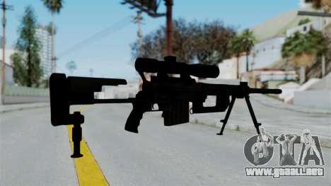 M2000 CheyTac Intervention para GTA San Andreas tercera pantalla