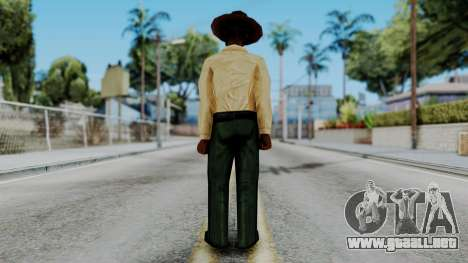 Instructor v2 from Half Life Opposing Force para GTA San Andreas tercera pantalla