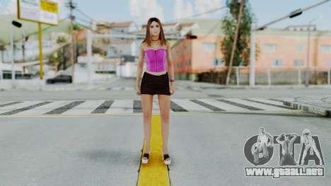 GTA 5 Hooker 01 v2 para GTA San Andreas segunda pantalla