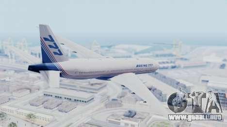 Boeing 777-200 Prototype para GTA San Andreas left