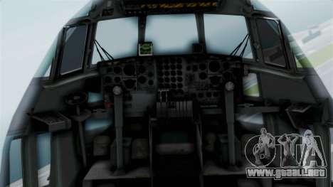 KC-130 Air Tanker para GTA San Andreas vista hacia atrás