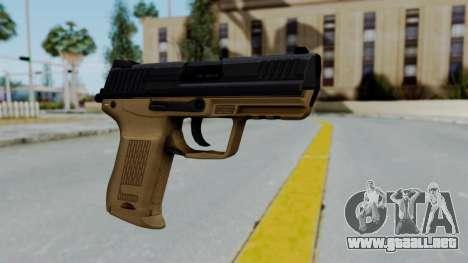 HK45 Sand Frame para GTA San Andreas