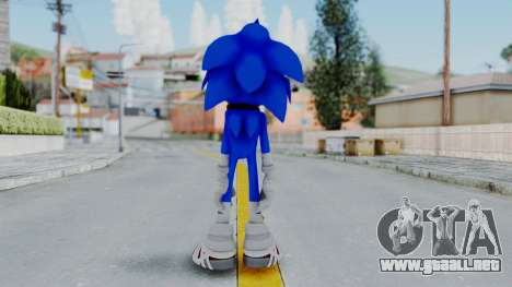 Sonic Boom para GTA San Andreas tercera pantalla