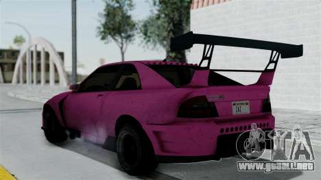 GTA 5 Karin Sultan RS Drift Double Spoiler para GTA San Andreas left