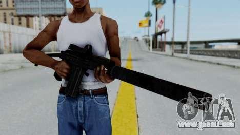 9A-91 Kobra and Suppressor para GTA San Andreas tercera pantalla