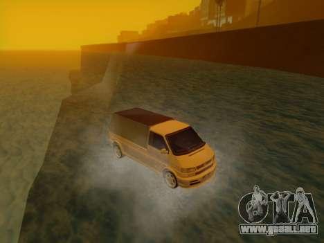 Volkswagen T4 Caravelle 35 Taza (1997) [Вездеход para la visión correcta GTA San Andreas