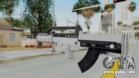 GTA 5 Bullpup Rifle - Misterix 4 Weapons para GTA San Andreas segunda pantalla