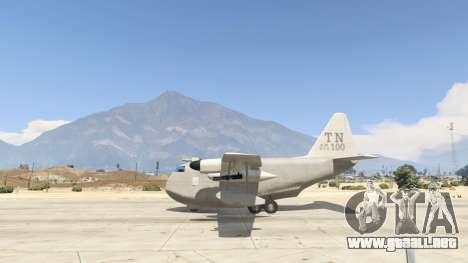 GTA 5 Amphibious Plane segunda captura de pantalla