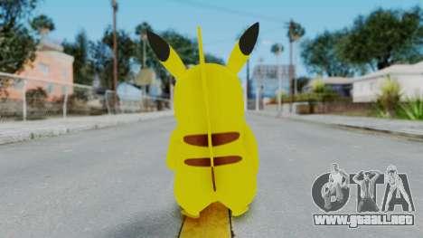 Dancing Pokemon Band - Pikachu para GTA San Andreas tercera pantalla