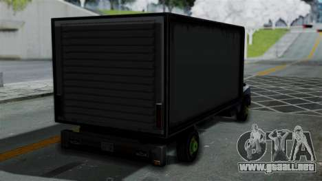 Yankee with StickerBombing para GTA San Andreas left