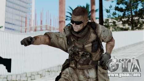 Crysis 2 US Soldier 2 Bodygroup B para GTA San Andreas