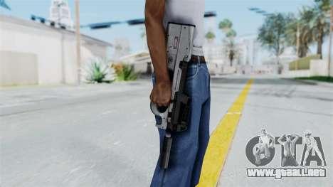P90 Grey para GTA San Andreas tercera pantalla