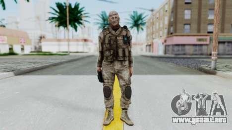 Crysis 2 US Soldier FaceB2 Bodygroup A para GTA San Andreas segunda pantalla