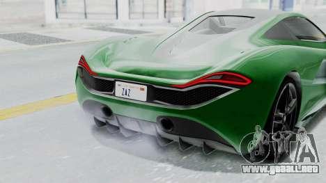 GTA 5 Progen T20 v2 IVF para visión interna GTA San Andreas