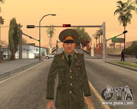 Ejército ruso Skin Pack para GTA San Andreas novena de pantalla