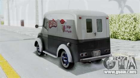 Divco 206 Milk Truck 1949-1955 Mafia 2 para GTA San Andreas left