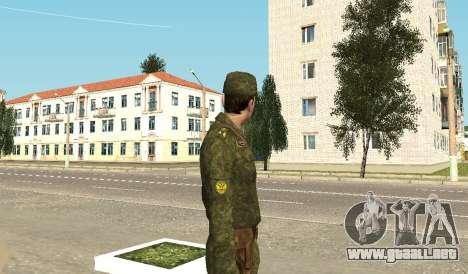 Los infantes de marina de las fuerzas armadas para GTA San Andreas tercera pantalla