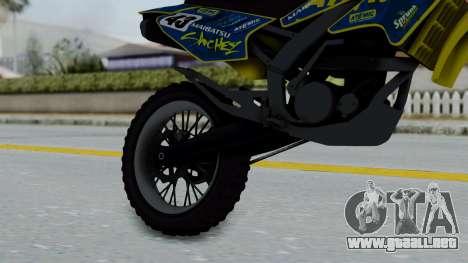 GTA 5 Atomic Sanchez para la visión correcta GTA San Andreas