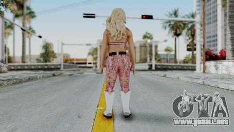 WWE Natalya para GTA San Andreas tercera pantalla