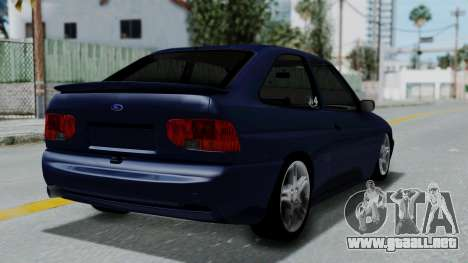 Ford Escort para GTA San Andreas left
