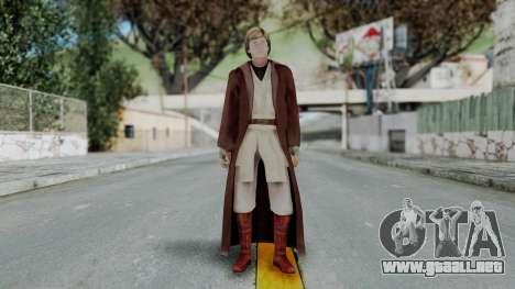 SWTFU - Luke Skywalker Spirit Apprentice Outfit para GTA San Andreas segunda pantalla