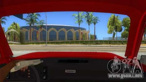 Zastava Poly 1.1 para visión interna GTA San Andreas