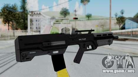 GTA 5 Advanced Rifle - Misterix 4 Weapons para GTA San Andreas segunda pantalla