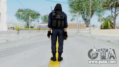 GIGN 1 Masked from CSO2 para GTA San Andreas tercera pantalla