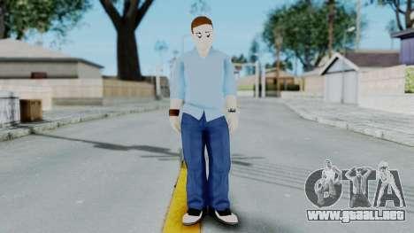 Bully Insanity Edition - John para GTA San Andreas segunda pantalla