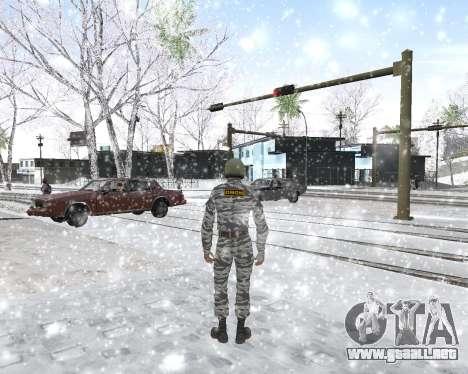 El OMON para GTA San Andreas sexta pantalla