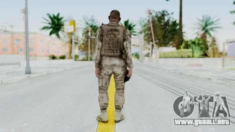 Crysis 2 US Soldier 6 Bodygroup A para GTA San Andreas tercera pantalla