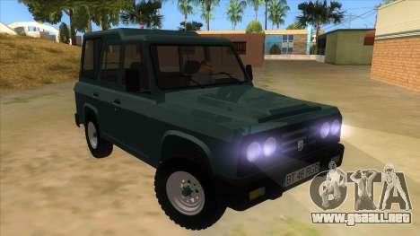 Aro 246 (1996) para GTA San Andreas vista hacia atrás