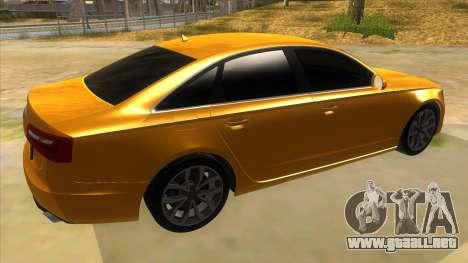 Audi A6 2012 para la visión correcta GTA San Andreas