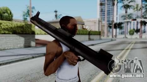 GTA 3 Rocket Launcher para GTA San Andreas tercera pantalla
