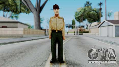 Instructor v1 from Half Life Opposing Force para GTA San Andreas segunda pantalla