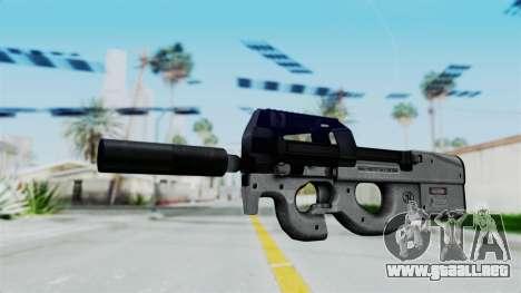 P90 Grey para GTA San Andreas