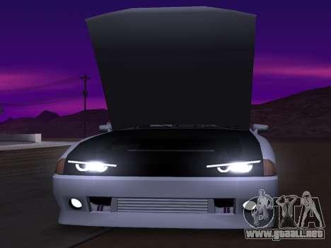 Elegy Evolution para GTA San Andreas vista posterior izquierda