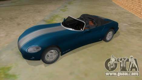 HD Banshee update para vista lateral GTA San Andreas