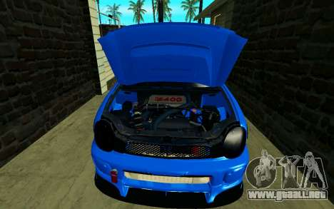 Subaru Impreza WRX STi Wagon 2003 para GTA San Andreas vista hacia atrás