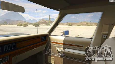 GTA 5 1987 Ford LTD Crown Victoria vista lateral derecha