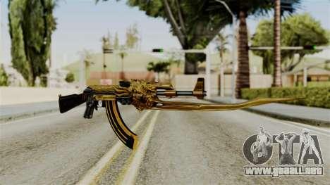 Dragon AK-47 para GTA San Andreas