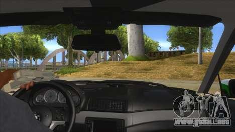 BMW Iranian Police para visión interna GTA San Andreas