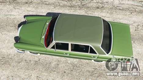 GTA 5 Mercedes-Benz 300SEL 6.3 1972 vista trasera