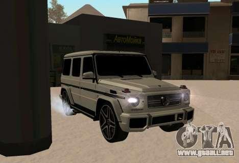 Mercedes-Benz G65 AMG para GTA San Andreas left