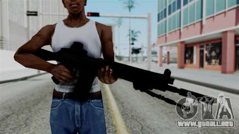 FN-FAL from CS GO with EoTech para GTA San Andreas tercera pantalla